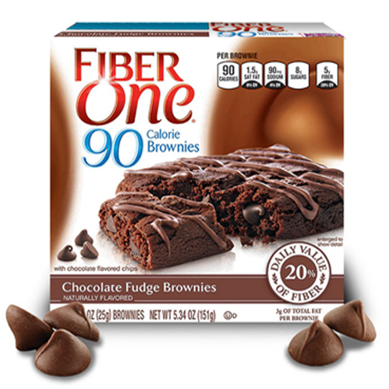 Imagen de BARRITAS FIBRE ONE BROWNIE CHOCOLATE